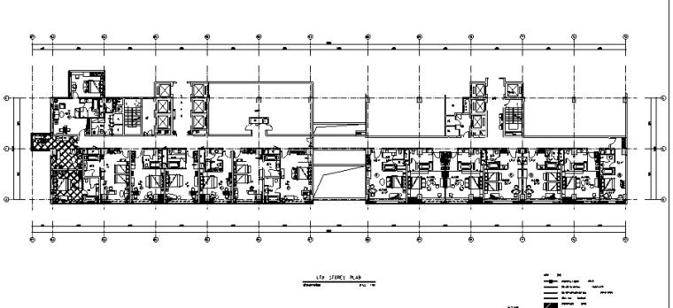 23000平米酒店空间设计施工图(附效果图+材料表)_4