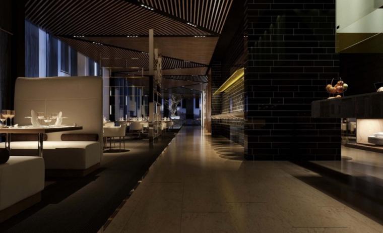 三峡大厦北办公楼室内设计方案图