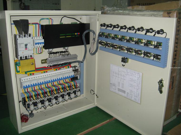 配电柜上电流表与互感器的接线图_2