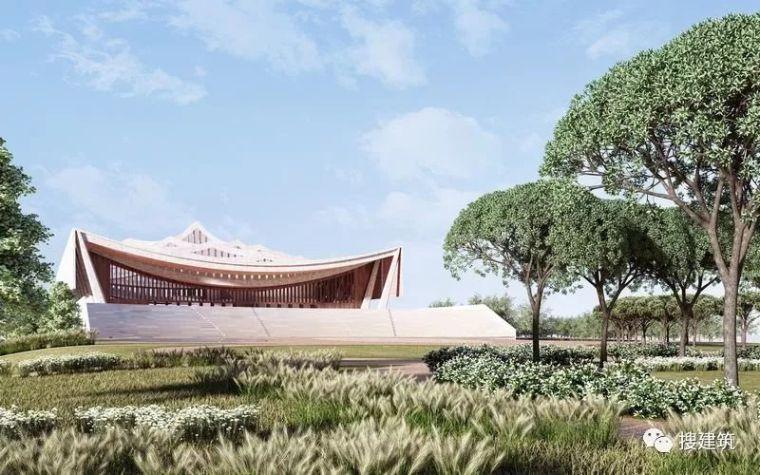 up建筑设计资料下载-令人惊艳的建筑设计:曲线教堂!