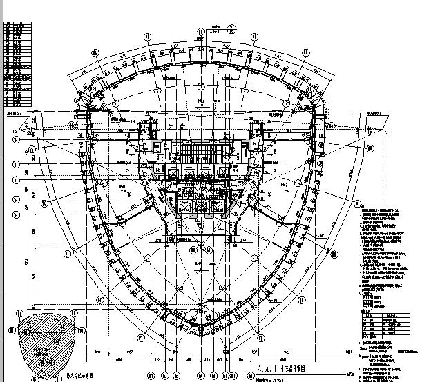 [上海]国际知名设计院办公楼最终审核图纸(16年最新)_7