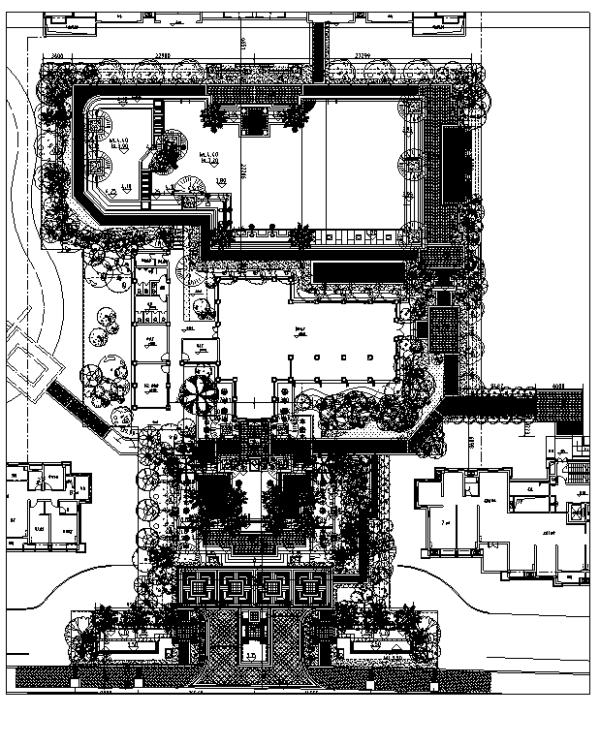 [江苏]互动式精装公寓景观展示区全套设计施工图(附实景图)