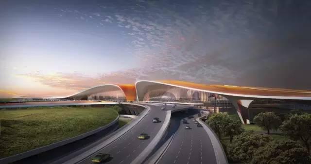 """中国最""""魔幻""""的北京大兴国际机场试飞了!黑科技满满…_42"""