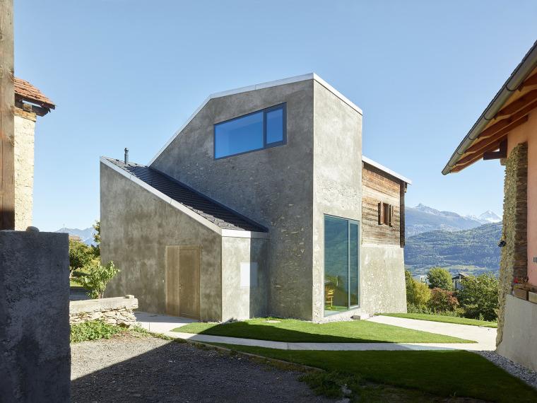 瑞士Rossi-dry住宅