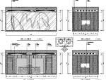 【福建】混搭风格海鲜主题餐厅设计施工图(附效果图)