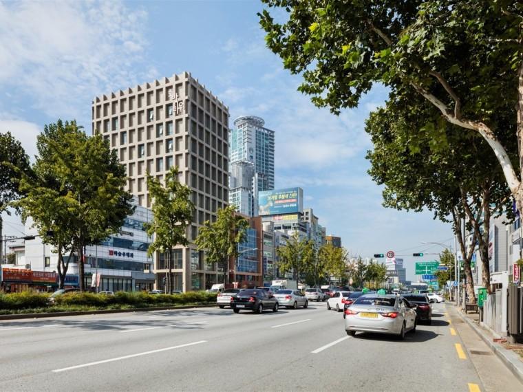 韩国Hobak办公塔楼