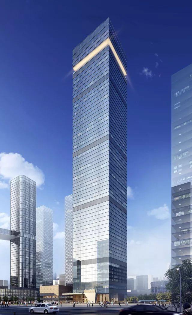 建筑结构 | 350米!西北第一高楼国瑞•西安金融中心结构封顶