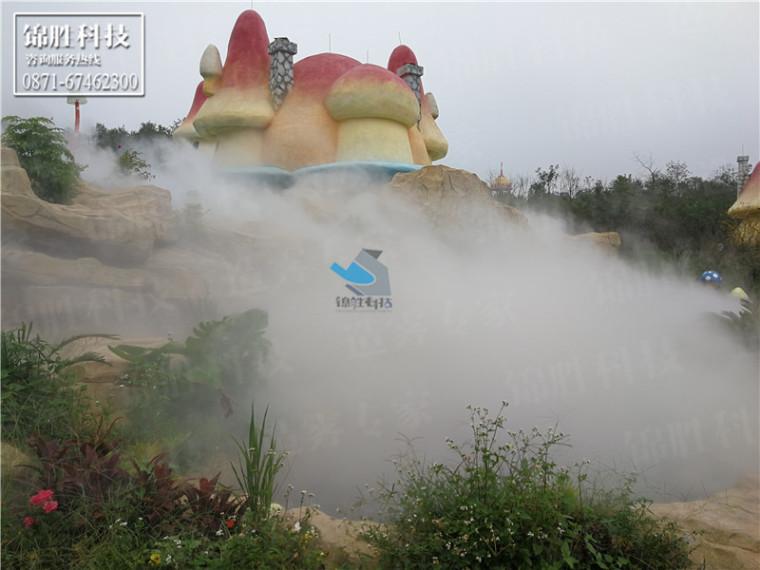 重庆万盛丛林菌菇蘑菇总动员人造雾景观-喷雾景观创意雾景案例-重庆万盛丛林菌菇蘑菇总动员43.jpg