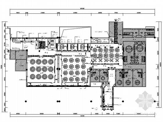 [广东]国际机场精品美食城装修施工图(含效果)