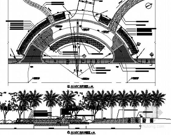 [惠阳]滨水公园广场景观工程竣工图