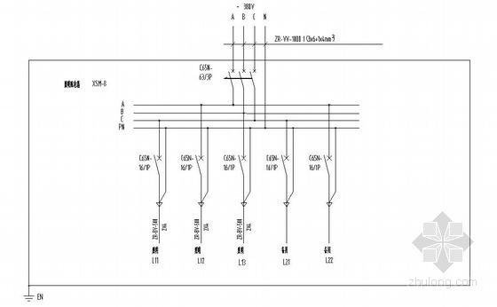 u型生产线布局图资料下载-某筛分厂生产线车间全套电气施工图
