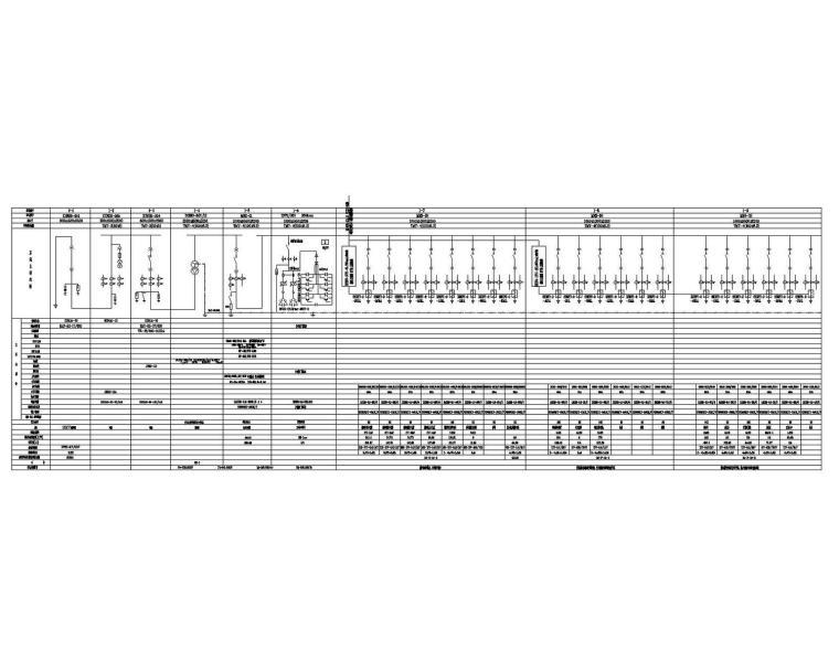 [山东]知名厂家涂装车间电气全套施工图(大院最新)