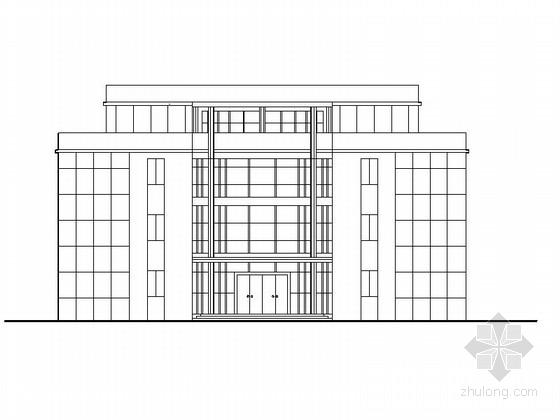 [湖南]多层框架结构商务会所建筑施工图