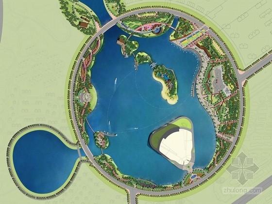 [抚顺]绿岛之链滨湖公园景观规划设计方案
