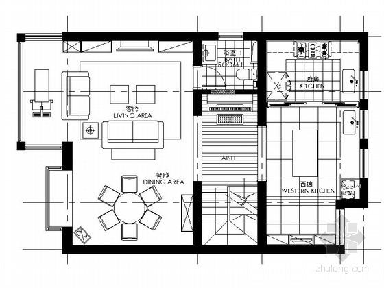 [上海]精品温馨现代风格三层别墅装修室内设计施工图(含效果)