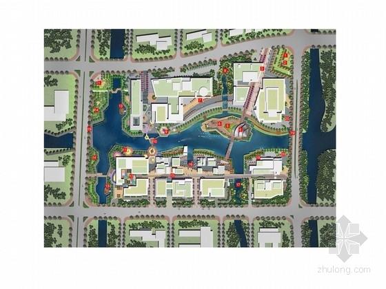 [宁波]新城多元化文化广场景观规划设计方案