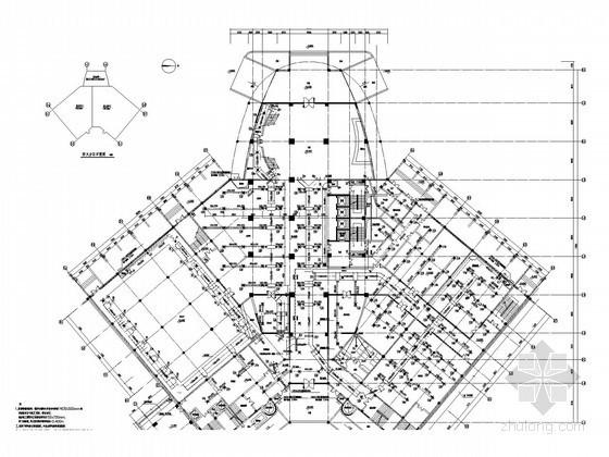 高层商业酒店空调通风及防排烟系统设计施工图