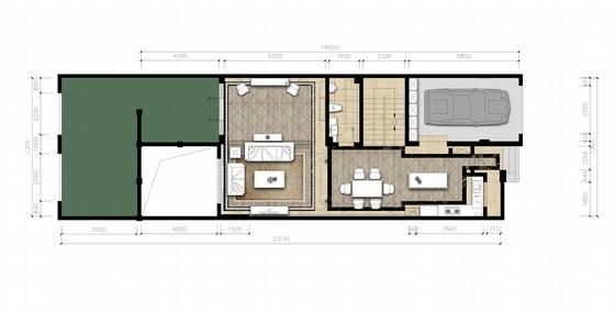 [山西]豪华欧式风格三层别墅室内装修设计方案
