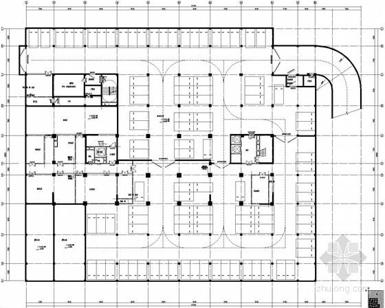 [安徽]公共建筑综合楼空调通风及防排烟系统设计施工图(含节能环保防腐保温设计)