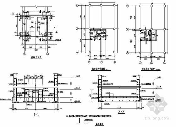 某六层框架商场加电梯改造工程施工图