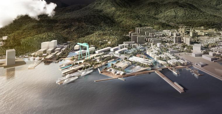 [知名设计公司特辑]走进AECOM的景观规划世界(70套资料在文末)-韩国CampMare港口城市规划-3