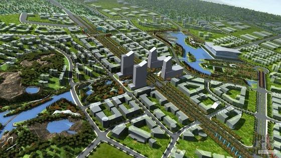 苏州科技城开放空间景观设计文本