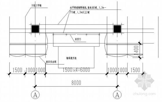 [河北]商业广场施工电梯施工方案(附图丰富)