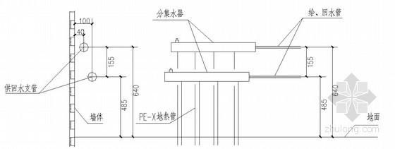 [秦皇岛]某宿舍水暖电全套图纸图片