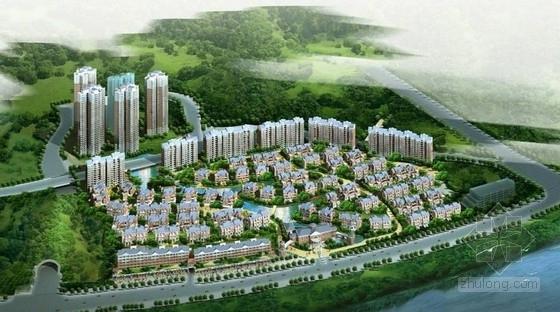 [重庆]新古典风格高端型沿江别墅建筑设计方案文本