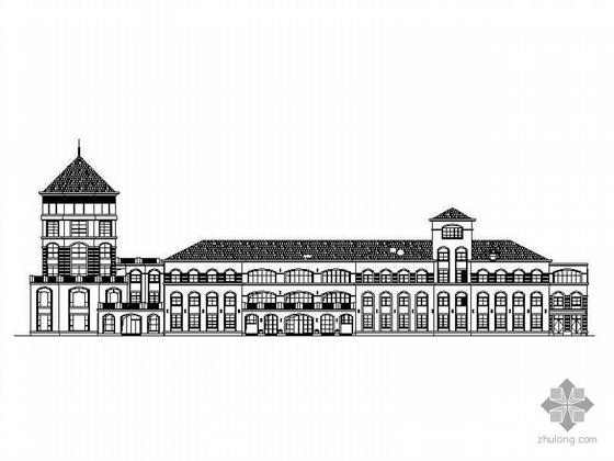 [无锡]长江国际花园幼儿园建筑施工图