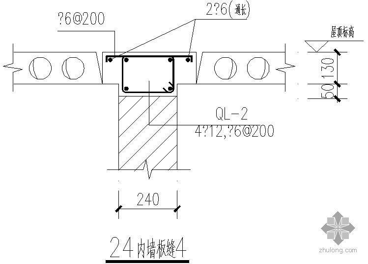 某24内墙板缝节点构造详图(4)