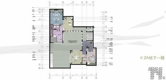 [苏州]现代中式新古典ZA中户型别墅创意策划概念图