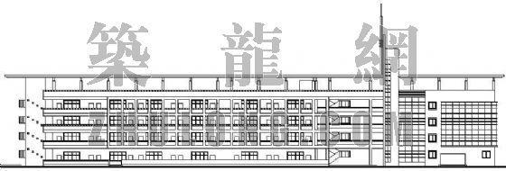 某学校综合楼全套建筑施工图平面图