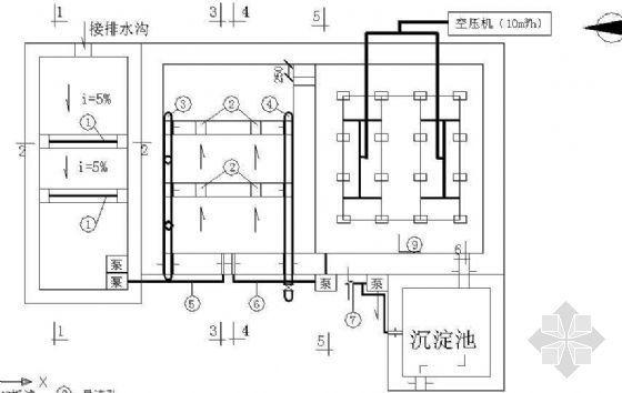 某养猪厂20吨/天废水处理施工图