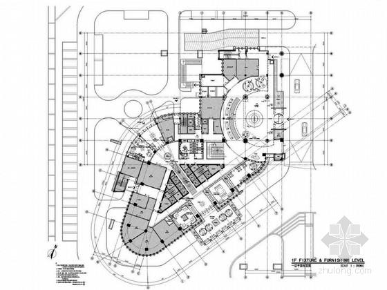 [无锡]全球连锁高档五星级标准国际商务酒店设计方案图