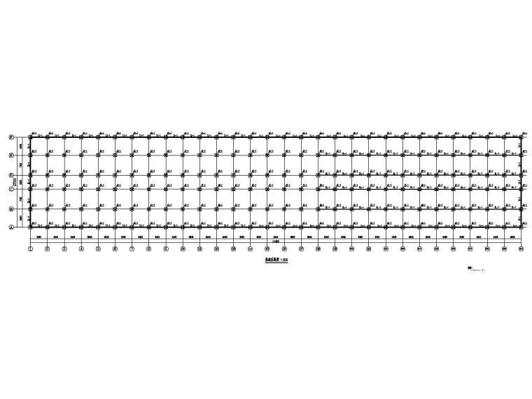 177米长钢结构农场结构施工图