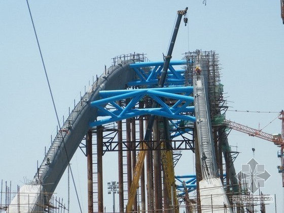 大跨径系杆拱桥施工监控关键技术研究