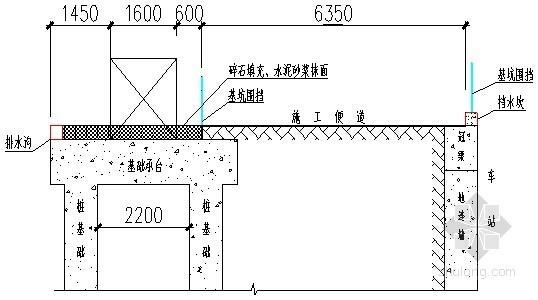地铁站施工塔吊基础施工方案