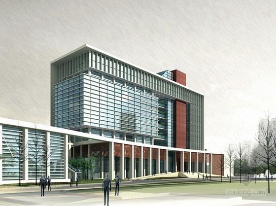 [陕西]2015年办公楼建筑工程量计算及施工组织设计(含施工进度图)
