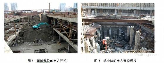 建筑工程深基坑混凝土后浇施工工法