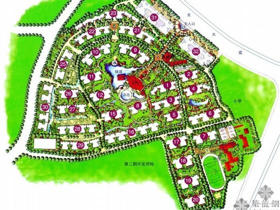 保利花园住宅小区规划设计文本