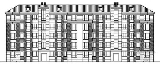 多层住宅建筑图纸
