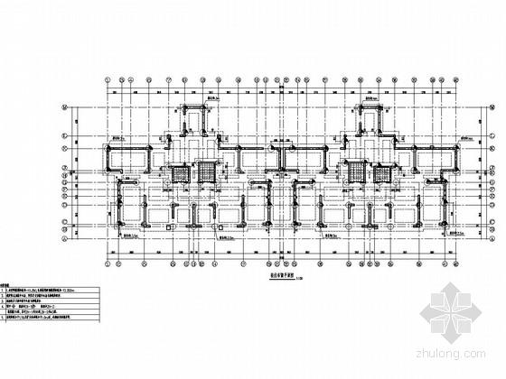 [安徽]37层剪力墙结构办公大厦结构施工图