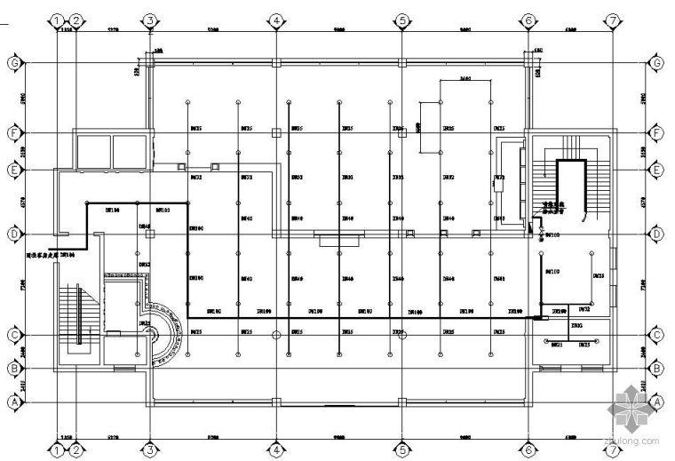 [分享]某建筑自动喷淋六合无绝对资料下载起重机械设计文件是指图片