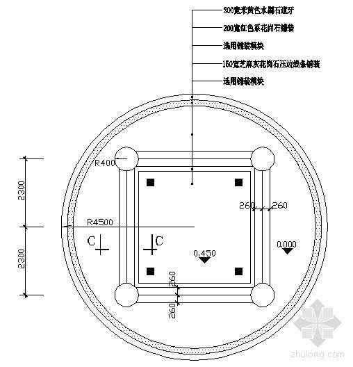 景观亭与花架详图-3