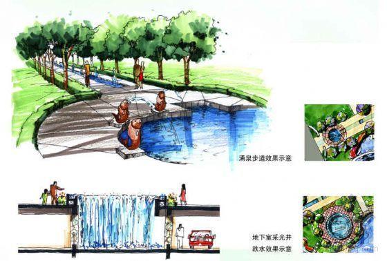 广东广州某小区环境景观设计方案-3