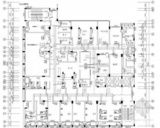 医院住院门诊综合大楼空调系统设计施工图(地源热泵)