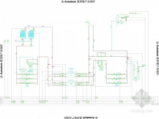 vrv空调系统原理讲解资料下载-空调自控原理示意图
