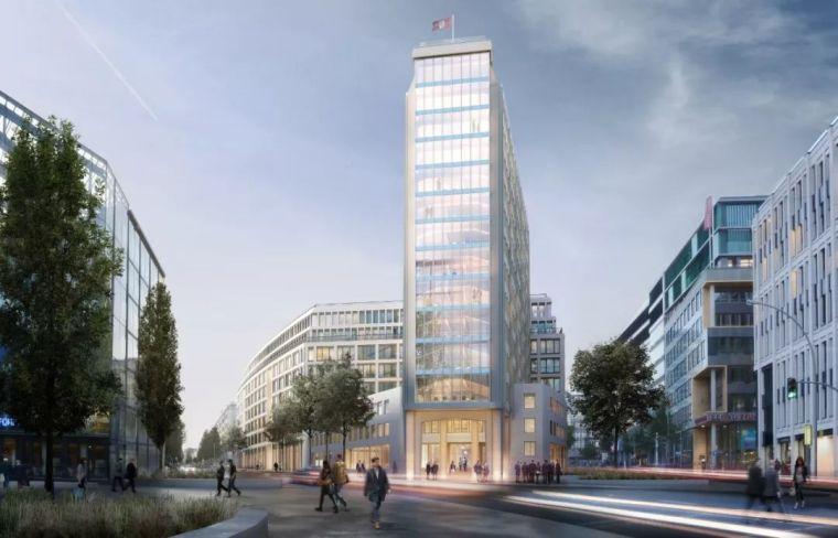 施普林格综合体封顶|汉堡市中心新建筑亮相