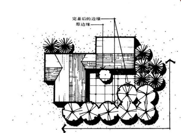 【园林景观设计图集】植物配置平面图03